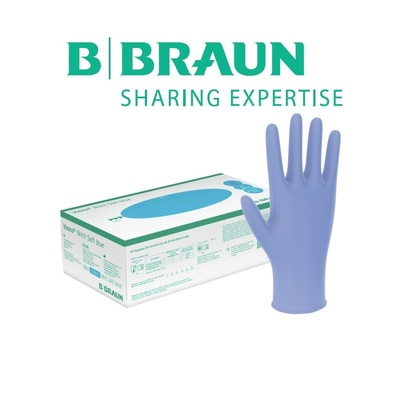 B Braun Vasco Nitrile Soft Blue (200 бр.)