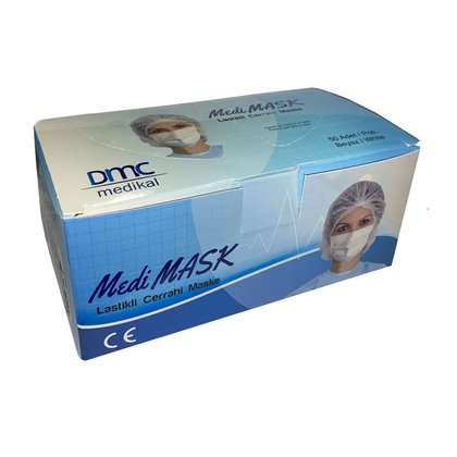 Surgical Face Mask with Elastic Ear Loop Medi Mask
